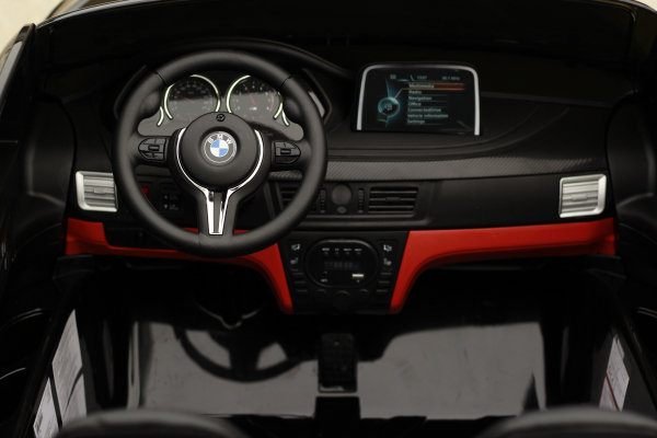 Masinuta electrica BMW X6M 12V XXL STANDARD #Negru 4