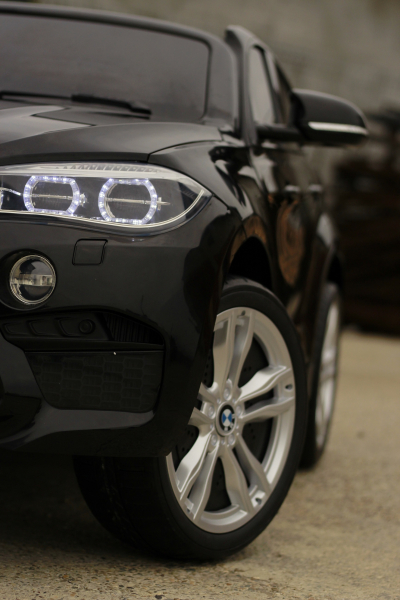 Masinuta electrica BMW X6M 12V XXL STANDARD #Negru 10