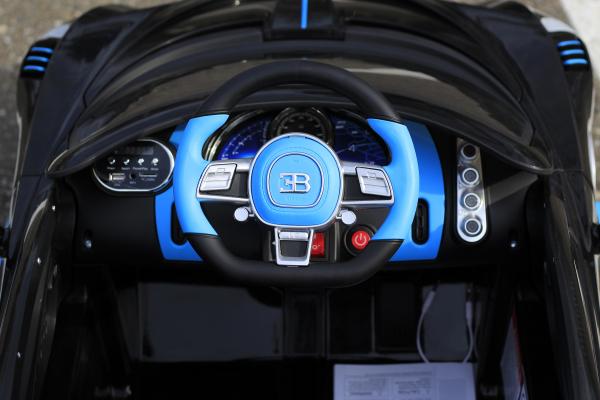Masinuta electrica Buggati Divo 2x45W 12V PREMIUM #Negru 6