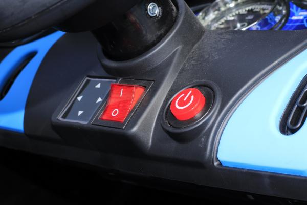 Masinuta electrica Buggati Divo 2x45W 12V PREMIUM #Negru [8]