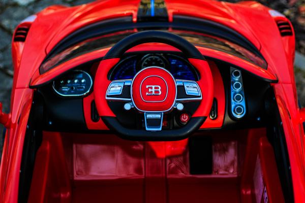 Masinuta electrica Buggati Divo 2x45W 12V PREMIUM #Rosu 6