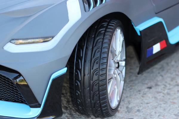 Masinuta electrica Buggati Divo 2x45W 12V PREMIUM #Silver 13