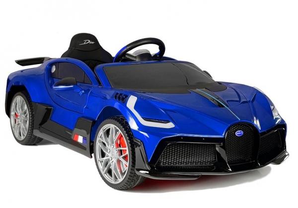Masinuta electrica Buggati Divo 2x45W 12V PREMIUM #Albastru 0