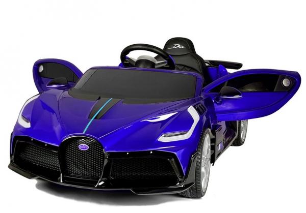Masinuta electrica Buggati Divo 2x45W 12V PREMIUM #Albastru 1