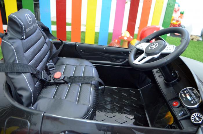 Masinuta electrica copii Mercedes CLS350 50W 12V PREMIUM #Negru [5]
