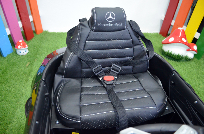 Masinuta electrica copii Mercedes CLS350 50W 12V PREMIUM #Negru [8]