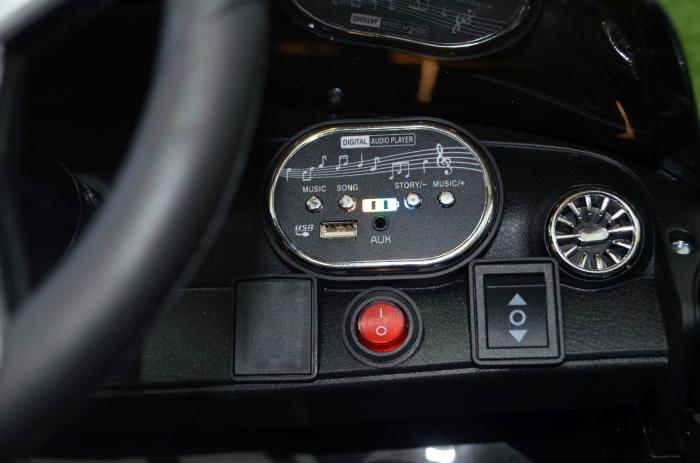 Masinuta electrica copii Mercedes CLS350 50W 12V PREMIUM #Negru [4]