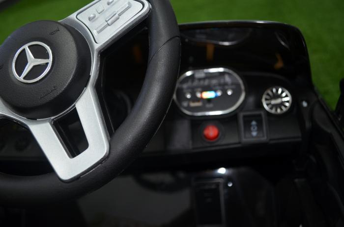 Masinuta electrica copii Mercedes CLS350 50W 12V PREMIUM #Negru [7]