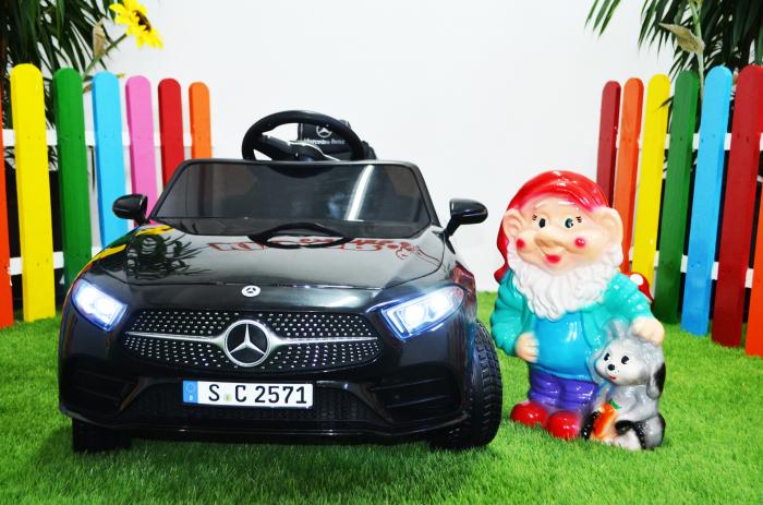 Masinuta electrica copii Mercedes CLS350 50W 12V PREMIUM #Negru [2]