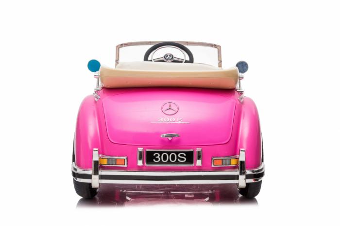 Masinuta electrica roz pentru copii Mercedes 300S [6]