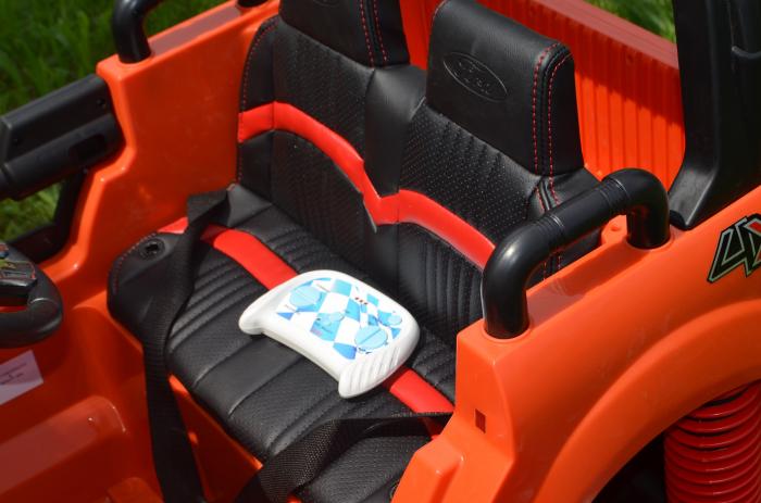 Ford Monster Truck electric pentru copii 2-7 ani [11]