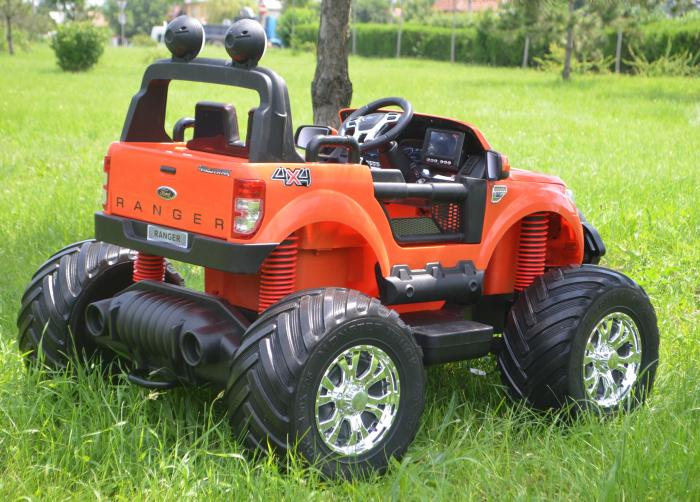 Ford Monster Truck electric pentru copii 2-7 ani [7]