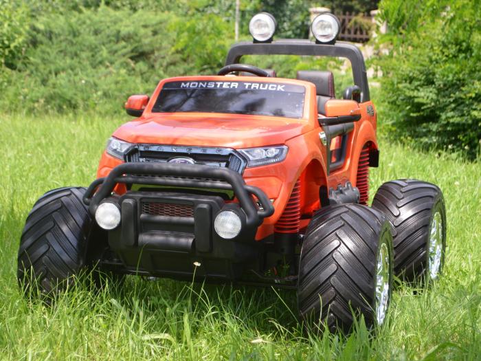 Ford Monster Truck electric pentru copii 2-7 ani [4]