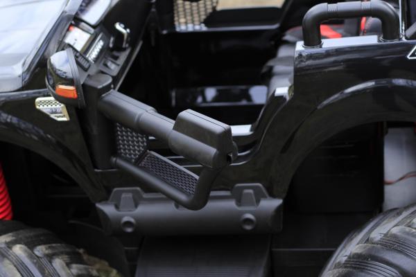 Masinuta electrica FORD MONSTER TRUCK 4x4 PREMIUM 180W #Negru 9