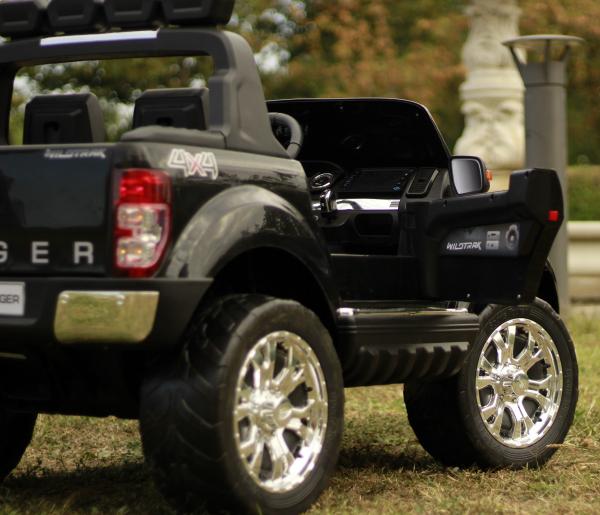 Masinuta electrica Ford Ranger 4x4 180W DELUXE #Negru [11]