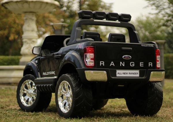 Masinuta electrica Ford Ranger 4x4 180W DELUXE #Negru [10]