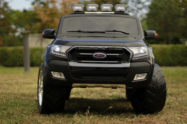 Masinuta electrica Ford Ranger 4x4 180W DELUXE #Negru [3]