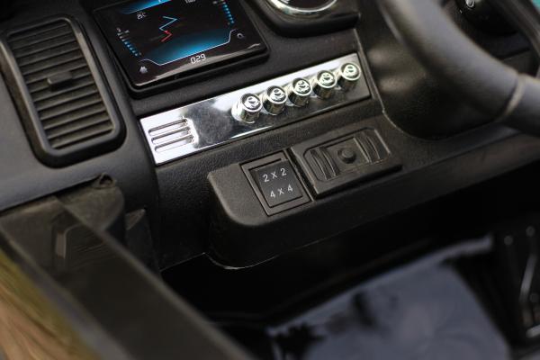 Masinuta electrica Ford Ranger 4x4 180W DELUXE #Negru [13]