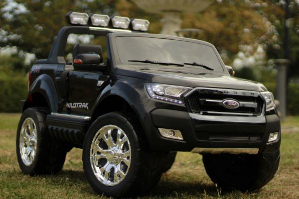 Masinuta electrica Ford Ranger 4x4 180W DELUXE #Negru [5]