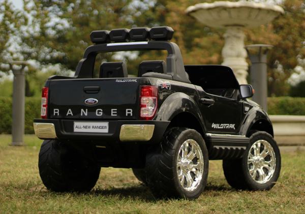 Masinuta electrica Ford Ranger 4x4 180W DELUXE #Negru [12]