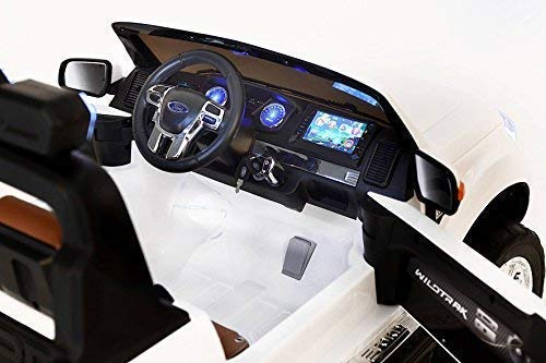 Masinuta electrica Ford Ranger 4x4 180W DELUXE #Alb 5