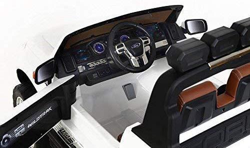 Masinuta electrica Ford Ranger 4x4 180W DELUXE #Alb 6