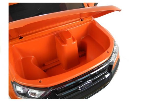 Masinuta electrica Ford Ranger 4x4 PREMIUM 180W #Portocaliu Metalizat 10
