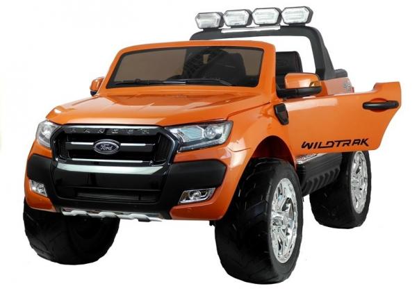 Masinuta electrica Ford Ranger 4x4 PREMIUM 180W #Portocaliu Metalizat 2