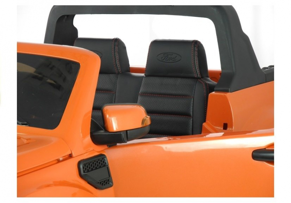 Masinuta electrica Ford Ranger 4x4 PREMIUM 180W #Portocaliu Metalizat 4