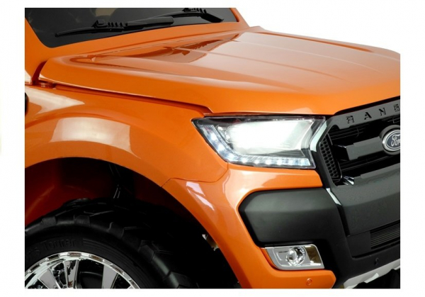 Masinuta electrica Ford Ranger 4x4 PREMIUM 180W #Portocaliu Metalizat 7
