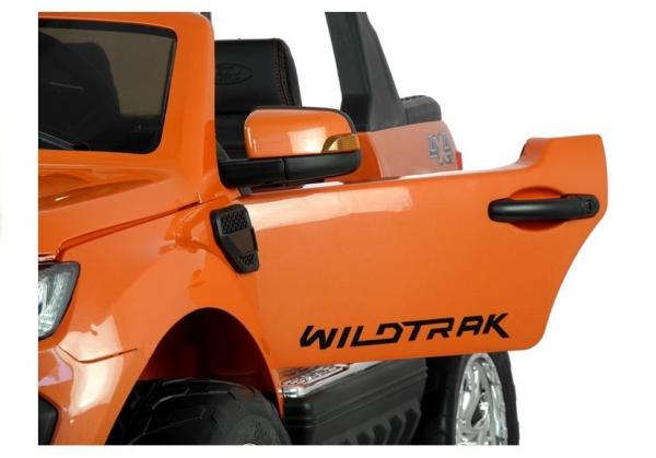 Masinuta electrica Ford Ranger 4x4 PREMIUM 180W #Portocaliu Metalizat 9