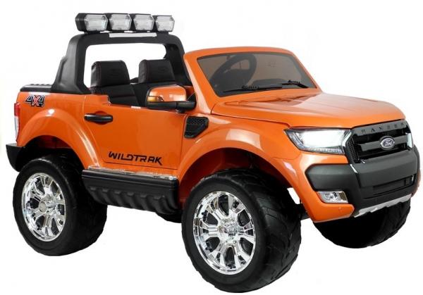 Masinuta electrica Ford Ranger 4x4 PREMIUM 180W #Portocaliu Metalizat 0