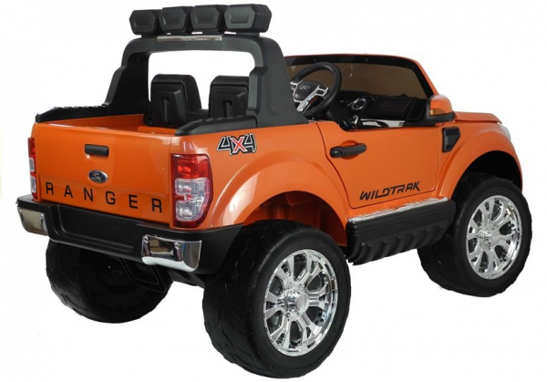 Masinuta electrica Ford Ranger 4x4 PREMIUM 180W #Portocaliu Metalizat 1