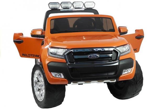 Masinuta electrica Ford Ranger 4x4 PREMIUM 180W #Portocaliu Metalizat 3