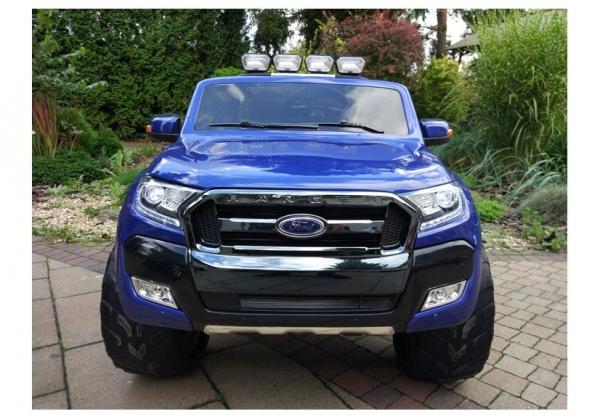 Masinuta electrica Ford Ranger 4x4 PREMIUM 180W #Albastru Metalizat [2]