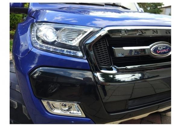 Masinuta electrica Ford Ranger 4x4 PREMIUM 180W #Albastru Metalizat [4]