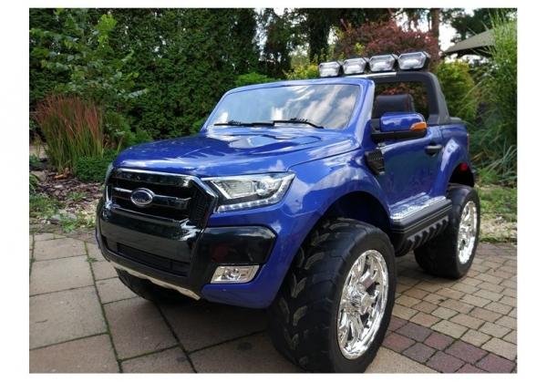 Masinuta electrica Ford Ranger 4x4 PREMIUM 180W #Albastru Metalizat 1