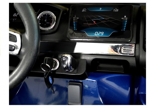 Masinuta electrica Ford Ranger 4x4 PREMIUM 180W #Albastru Metalizat [11]