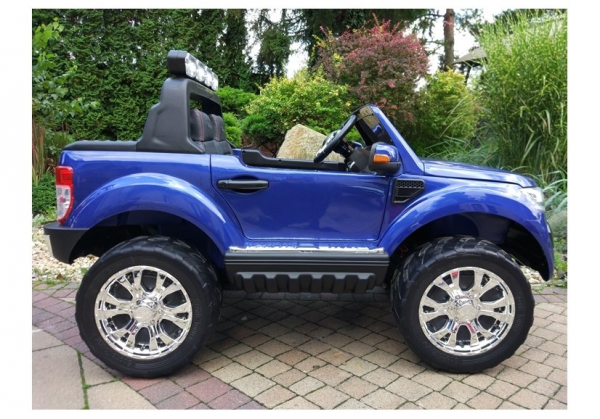 Masinuta electrica Ford Ranger 4x4 PREMIUM 180W #Albastru Metalizat 7