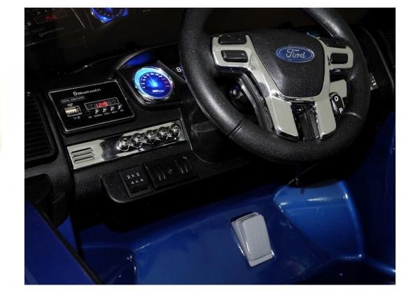 Masinuta electrica Ford Ranger 4x4 PREMIUM 180W #Albastru Metalizat [12]