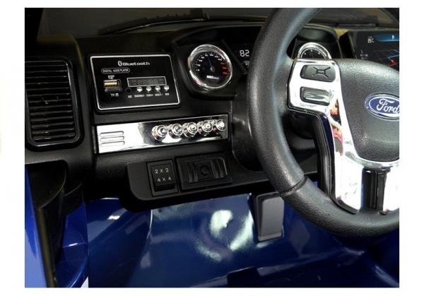 Masinuta electrica Ford Ranger 4x4 PREMIUM 180W #Albastru Metalizat 10