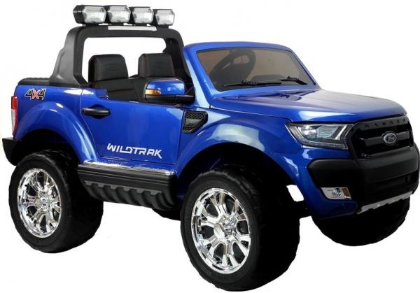 Masinuta electrica Ford Ranger 4x4 PREMIUM 180W #Albastru Metalizat 0