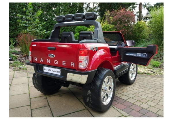 Masinuta electrica Ford Ranger 4x4 PREMIUM 180W #Rosu Metalizat [5]