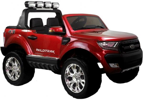 Masinuta electrica Ford Ranger 4x4 PREMIUM 180W #Rosu Metalizat [0]