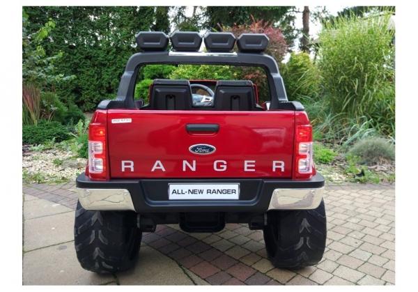 Masinuta electrica Ford Ranger 4x4 PREMIUM 180W #Rosu Metalizat [6]