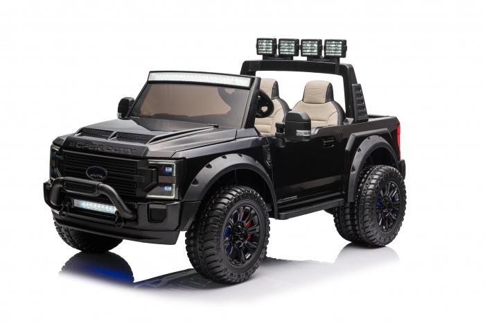 Ford Super Duty F450 pentru copii, 4x4 180W, negru [1]