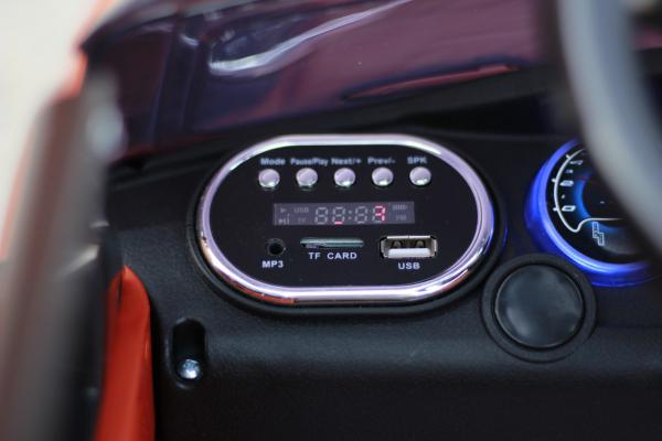 Masinuta electrica HL-1683 12V 90W STANDARD #Portocaliu 11