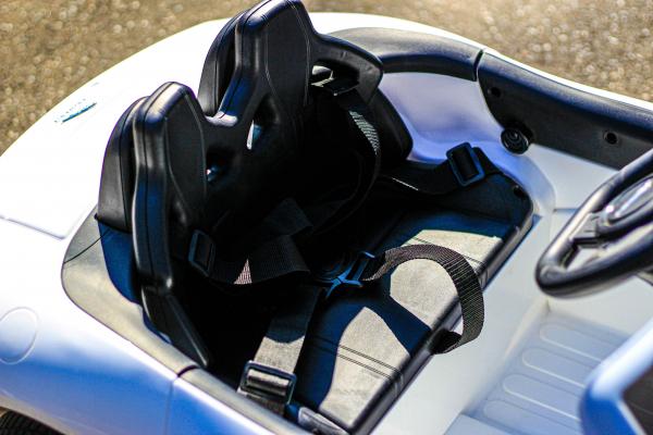 Masinuta electrica Jaguar F Type cu ROTI MOI 2x 35W 12V #ALB 8