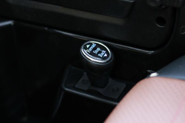 Masinuta electrica Jeep BRD-7588 90W 12V cu Scaun Tapitat #Negru 5