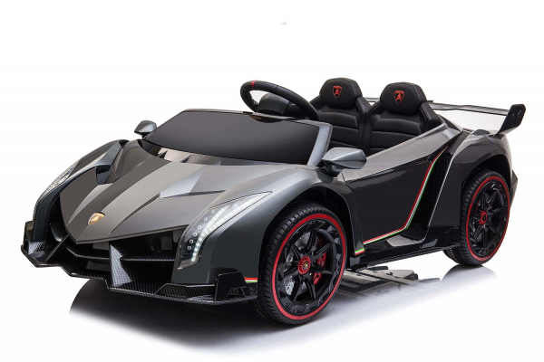Masinuta electrica Lamborghini Veneno 180W 12V PREMIUM #Negru 0